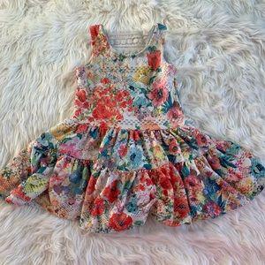 EUC Rare Editions Toddler Floral Dress